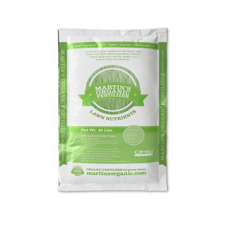 Martin 39 s organic fertilizer company bell for Organic soil brands